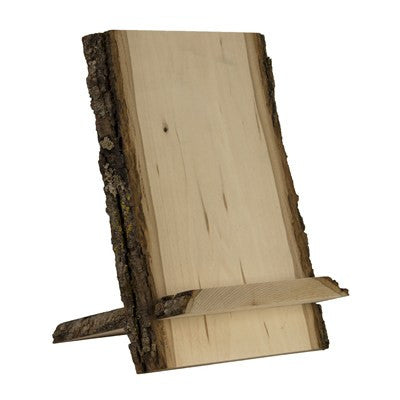 Bark Edge 2 Piece Wood Tablet Stand - Duel Design Studio - 1
