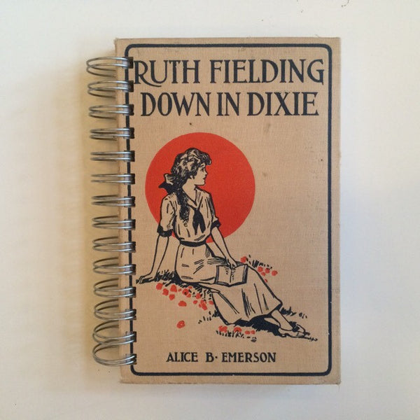 Ruth Fielding Down In Dixie vintage hardback Blank sketchbook - Duel Design Studio - 1