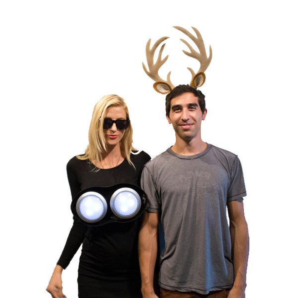 Deer in the Headlights Halloween Costume