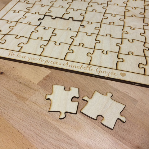 Blank Wooden Puzzle Toy for Artists to paint - Duel Design Studio - 1