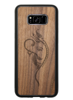 Slim Wooden Phone Case | Yoga Ganesha