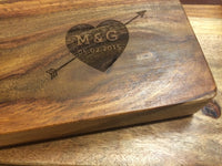 Engraved Names Cutting Board - Duel Design Studio - 6