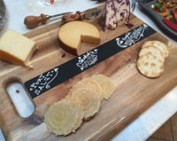 Chalkboard Cutting Board Cheese Tray - Duel Design Studio - 3