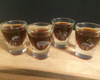 Native American Kokpelli Shot Glasses - Duel Design Studio - 1