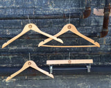 Engraved Wooden Pant Hanger - Wholesale - Duel Design Studio - 4
