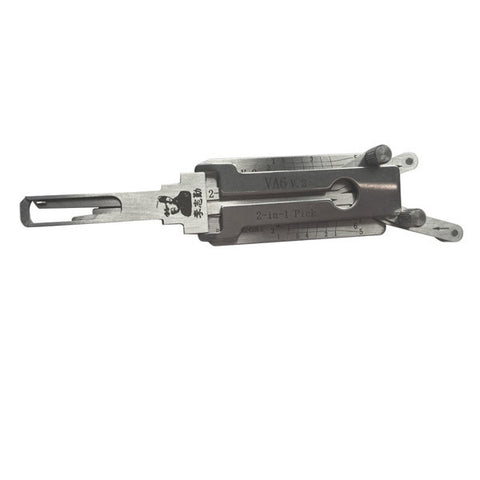 LISHI CY24 Chrysler para llave doble corte  (Ganzua 2 en 1) Decodificadora