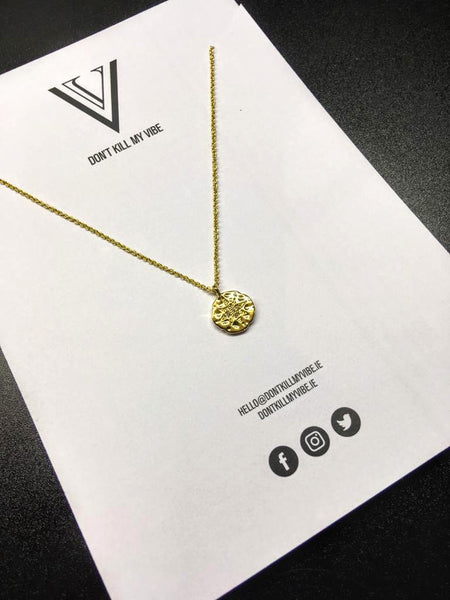 The North Star Disc Necklace