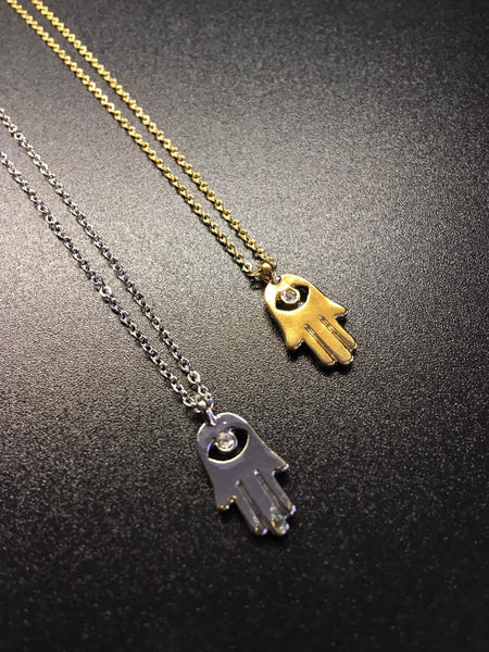 The Hamsa Hand Necklace