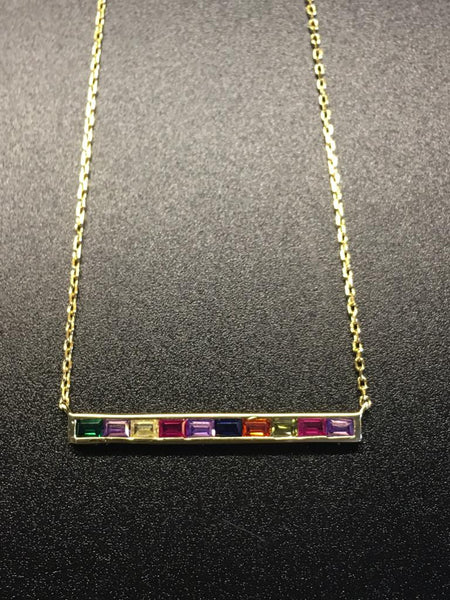 The Pride Bar Necklace 🌈
