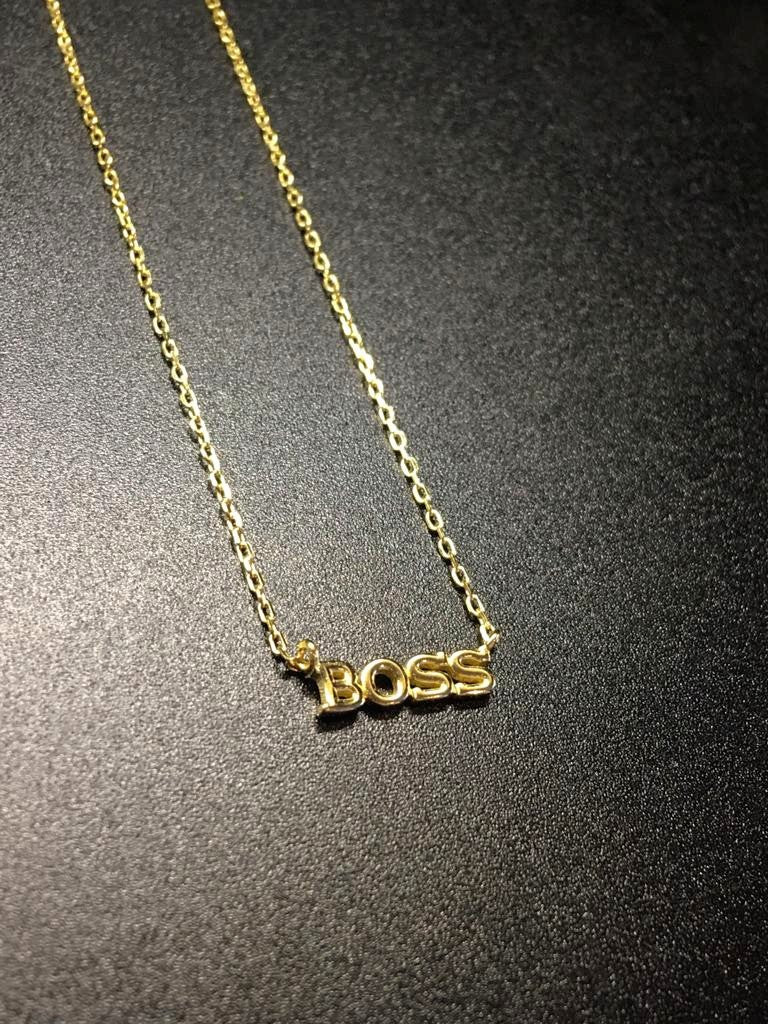 Boss B**ch Necklace