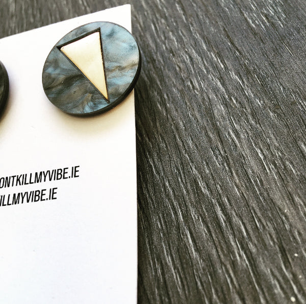 The Lightening Bolt Stud Earrings