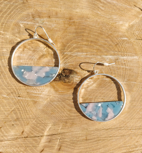 Blue Candy Shop Hoops