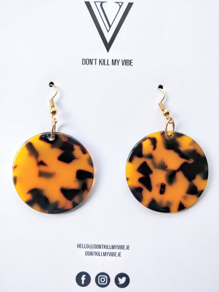 Wild Thang Disc Earrings