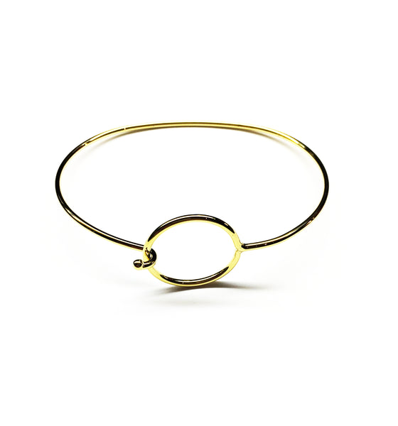 Lil Hoop Gold Bangle