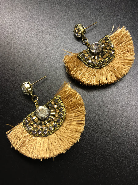 The Sahara Fringe Earrings