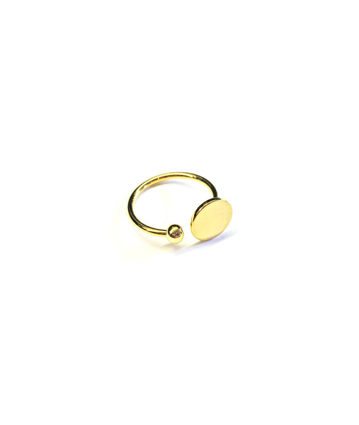 The Orbit Gold Ring