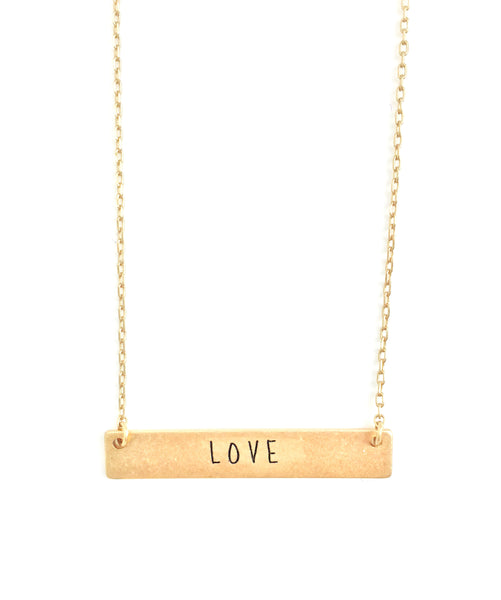 All My Love Gold Necklace