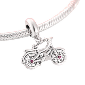 Bicycle Charm Sterling Silver | Loulu Charms