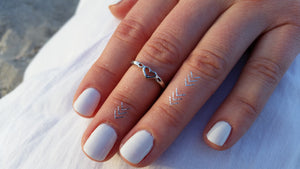 Heart Midi Ring | Loulu Charms