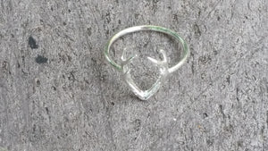 Deer Antler Ring | Antler Ring | Loulu Charms