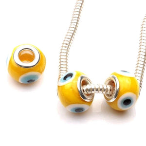 Evil Eye Glass Charm Bead (1 Charm)