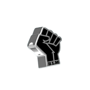 Black Lives Matter BLM Charm Sterling Silver | Loulu Charms