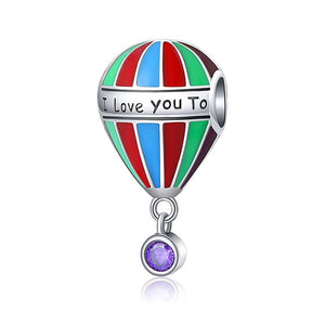 I Love You to The Moon and Back Balloon Charm