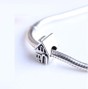 Home Sweet Home Charm Sterling Silver