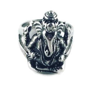 Hindu God Ganesh Ring