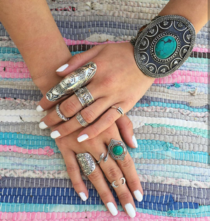 Knuckle Gypsy Ring | Loulu Charms