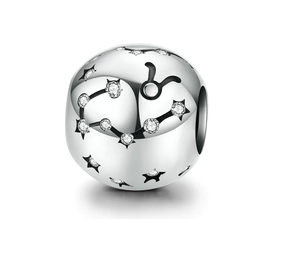 Zodiac Sign Charm Sterling Silver | Loulu Charms