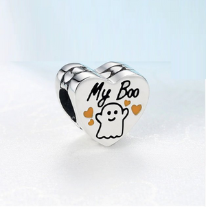 My Boo Charm Sterling Silver