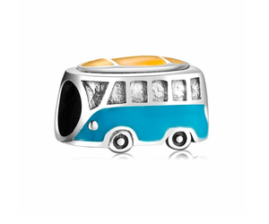 Volkswagen Hippie Bus Charm | Loulu Charms
