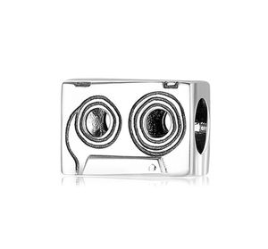 Vintage Cassette Tape Charm Sterling Silver | Loulu Charms