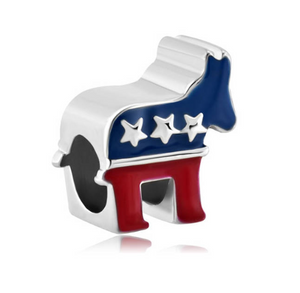 Democrat Party Charm | Loulu Charms