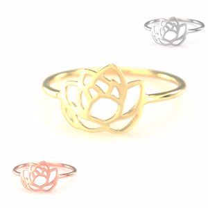 Lotus Flower Ring | Loulu Charms