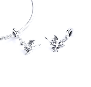 Dragon Charm Sterling Silver | Loulu Charms