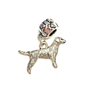 Silver Terrier Dangle Charm