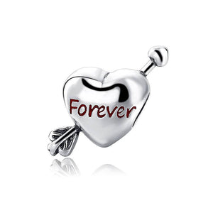 Sterling Silver Forever Charm - Love Forever Charm