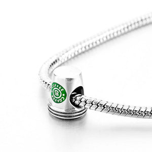Sterling Silver Coffee Cup Charm - Love Coffee Charm