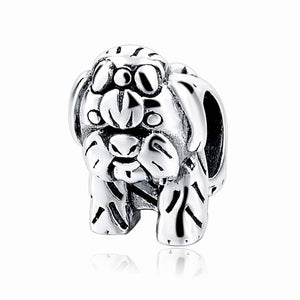 Yorkshire Terrier Charm Sterling Silver