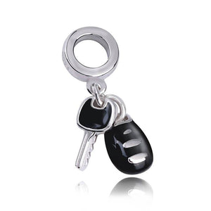 Sterling Silver Car Keys Charm