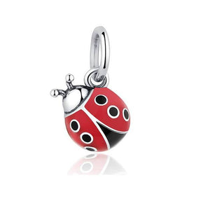 Ladybug Charm Sterling Silver  | Loulu Charms