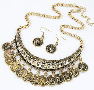 Gypsy Coins Necklace