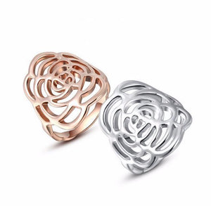 Rose Flower Ring | Loulu Charms