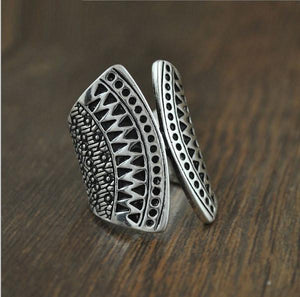 Gypsy Sunburst Ring Set | Loulu Charms
