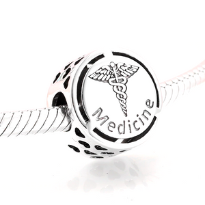 Medicine Charm Sterling Silver | Loulu Charms
