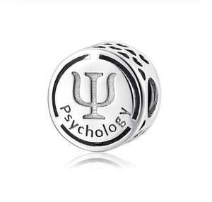 Psychology Charm Sterling Silver | Loulu Charms