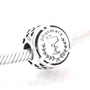 Pharmacy Charm Sterling Silver | Loulu Charms
