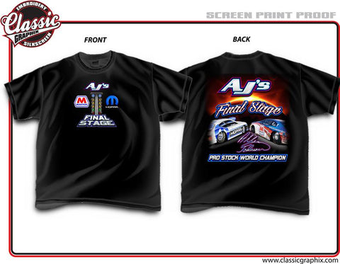 **** Allen Johnson 2017 Final Stage T-Shirt ****
